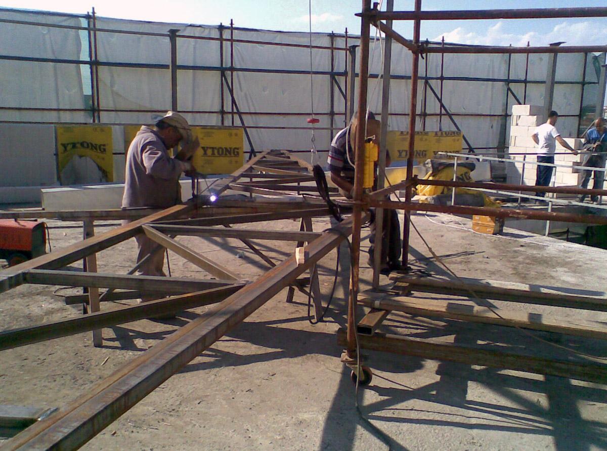 Çelik Konstrüksiyon Çatı İmalatı