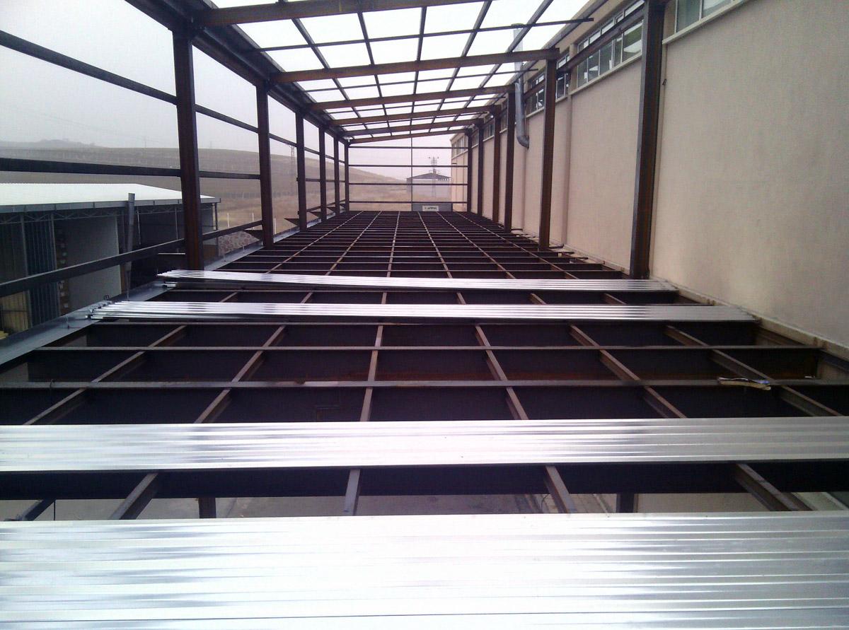 Çelik Konstrüksiyon Kaplama