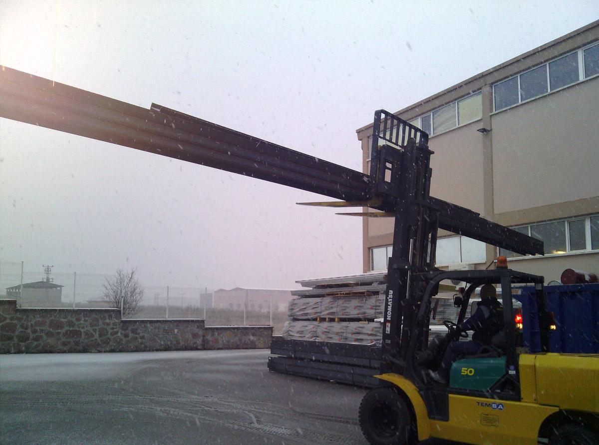 Çelik Konstrüksiyon Taşıma