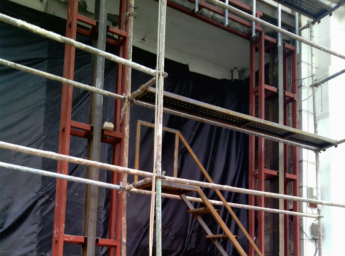 Metal Cephe Dekorasyon İnşaatı