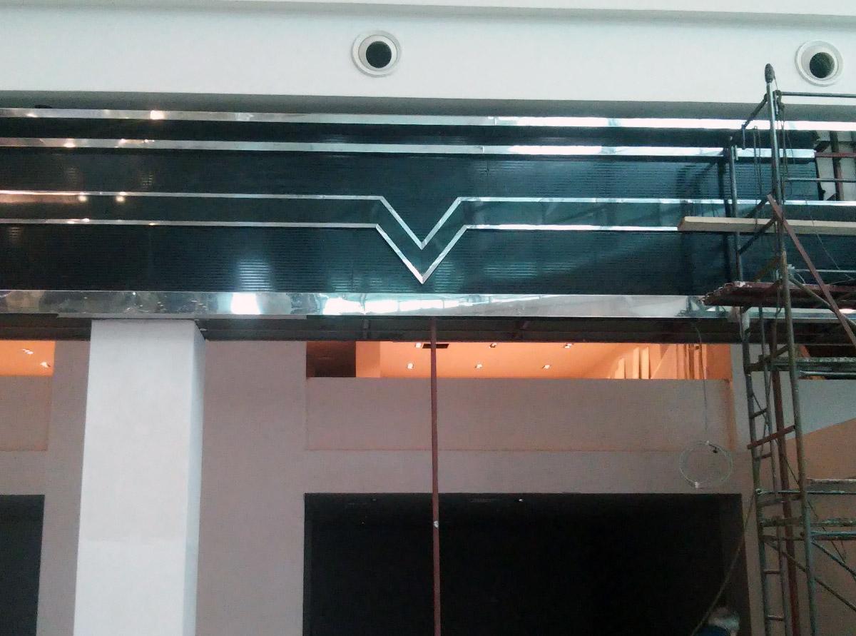 Metal Cephe Dekorasyon
